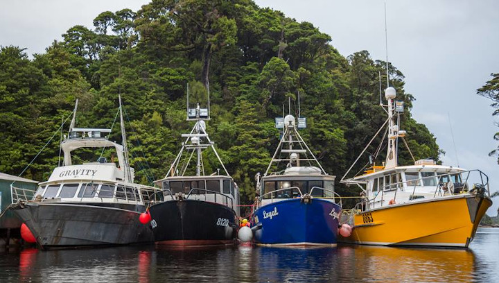 CRA8 lobster fishing boats